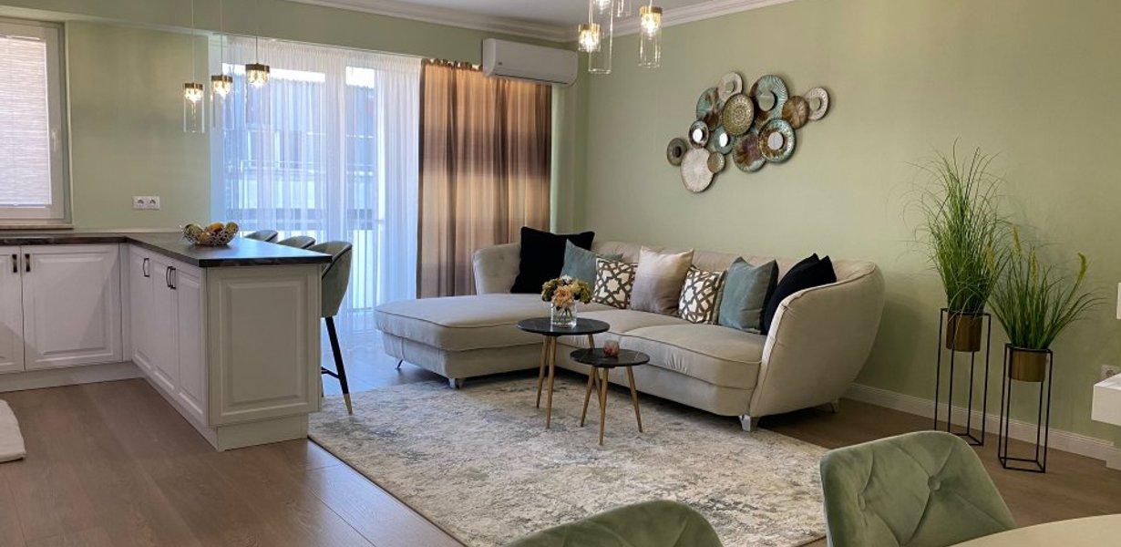 Apartament Mobilat Lux - Imobil Nou - imaginea 1