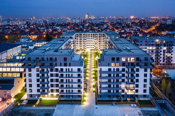 ansamblu rezidential Arcadia Apartments Domenii