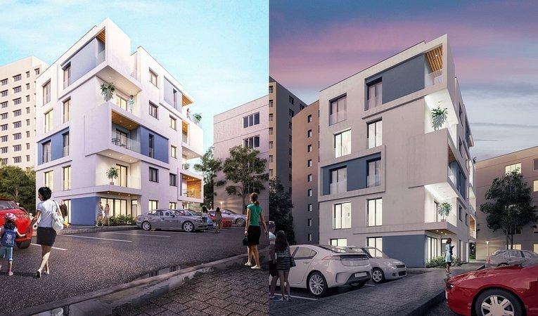 ansamblu rezidential Architecture Residence