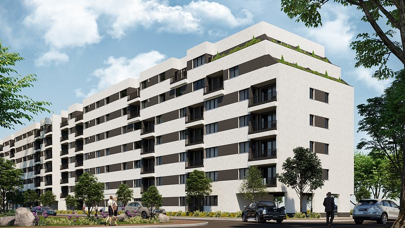ansamblu rezidential Ave Properties Brâncoveanu