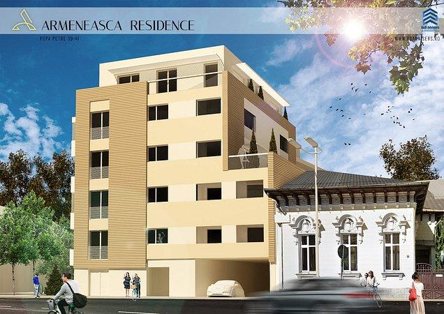 ansamblu rezidential Armeneasca Residence