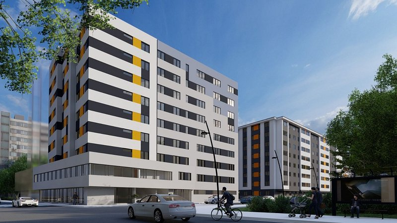 ansamblu rezidential Eurocasa Residence