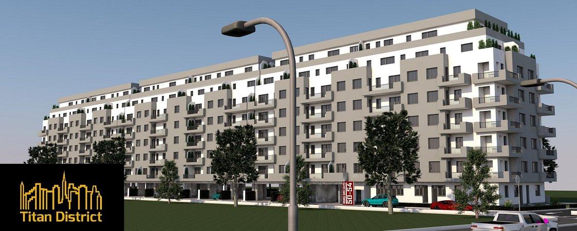 ansamblu rezidential Titan District Rezidential